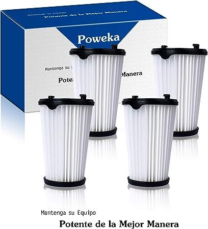Poweka AEF150 Filtro para Aspiradora AEG Ergorapido CX7-2 HX6 para Todos los Modelos (4 Piezas): Amazon.es: Hogar