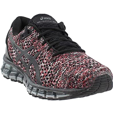 quality design 7da11 e4efa ASICS Gel-Quantum 360 Knit 2 Men s Running Shoe, Black Classic Red