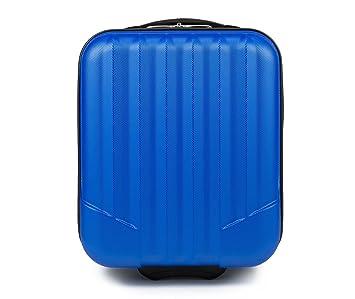 WITTCHEN Equipaje de mano, Maleta, Azul, 42x32x25 cm, 25 Litro, Dimensión: Pequeña, XS, ABS -V25-10-232-90: Amazon.es: Equipaje