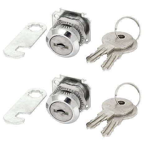 Cerradura del buzon - SODIAL(R)Cerradura de leva del cilindro de seguridad del