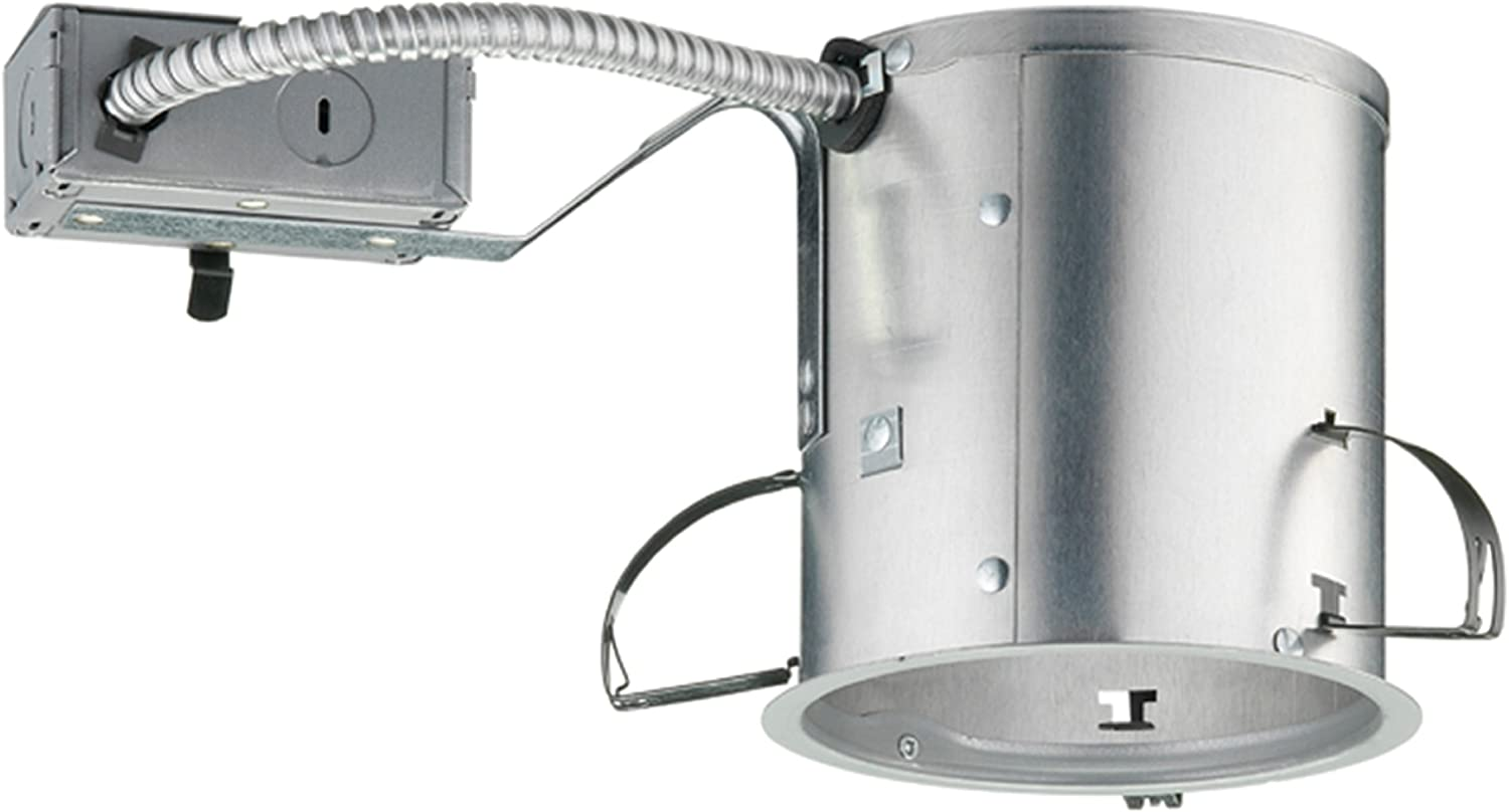 Juno Lighting Group Ic25r Incandescent Universal Shallow Remodel Housing Aluminum Recessed Light Fixture Housings Amazon Com