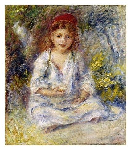237b18e284cf Amazon.com: Global Gallery Little Algerian Girl-Paper Art-27.84