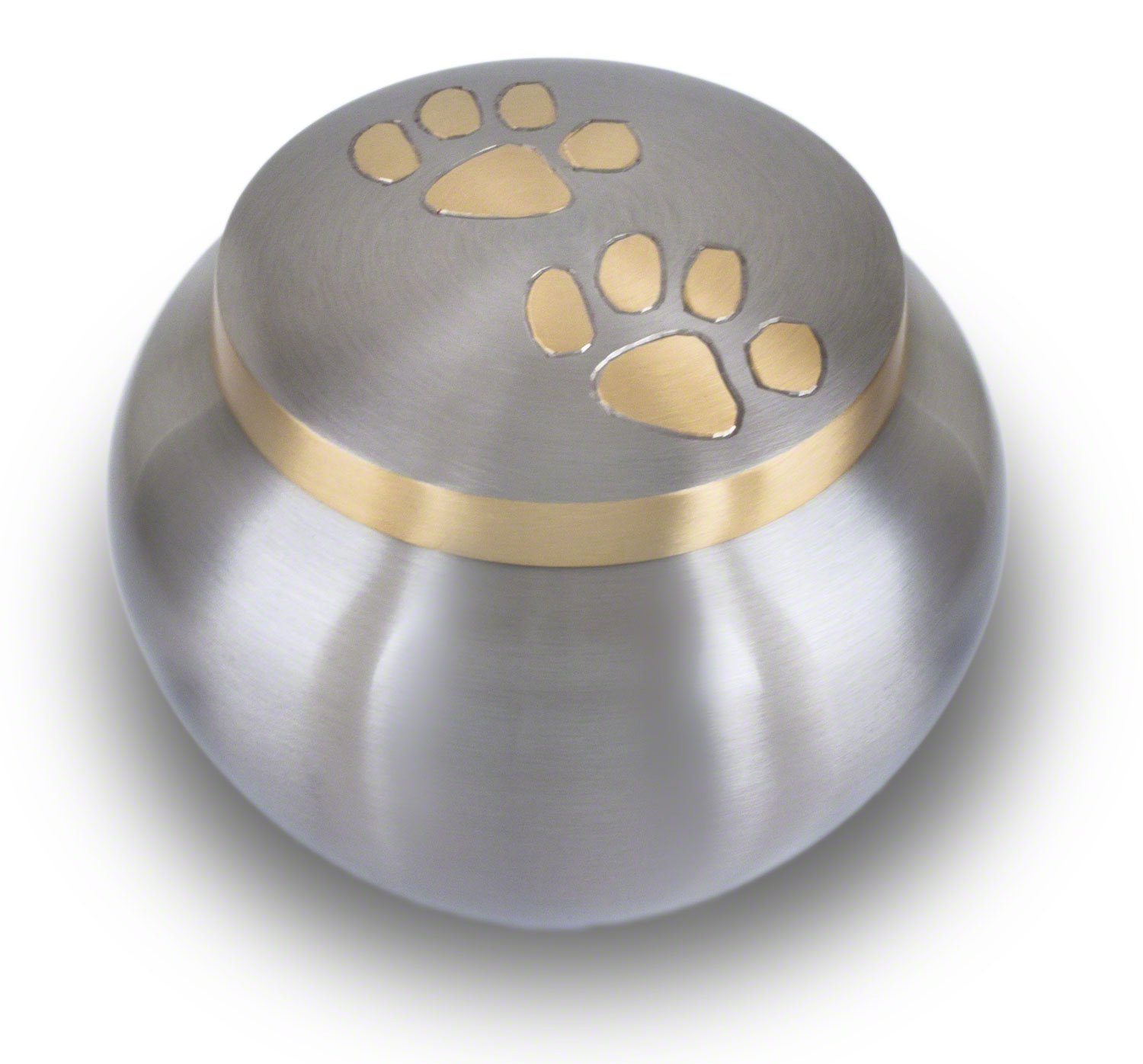 Best Friend Services Odyssey Pewter with Brass Paws (Large) by Best Friend Services (Image #1)