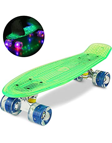 Mini Ridge Cruiser Rotelle per skateboard Blaze con illuminazione a LED