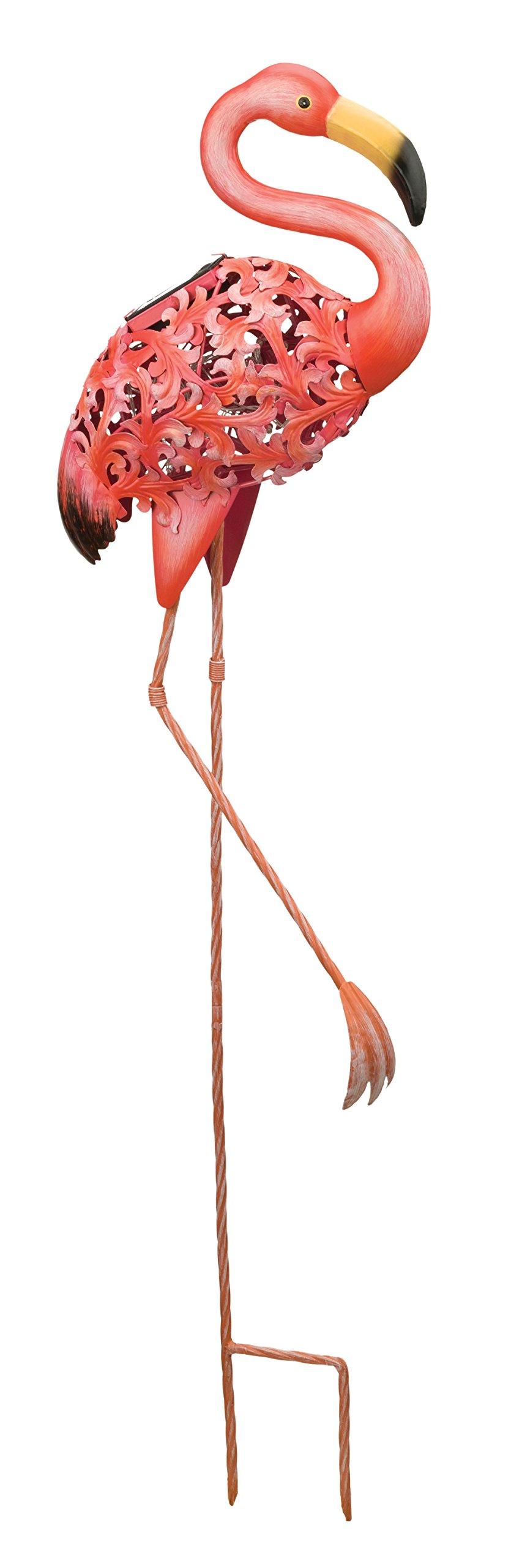 Regal Art & Gift Solar Bird Stake - Flamingo