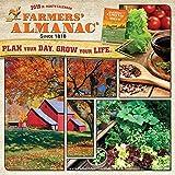 Farmers Almanac 2019 12 x 12 Inch Monthly Square Wall Calendar, Weather Farm Gardening Health Organic