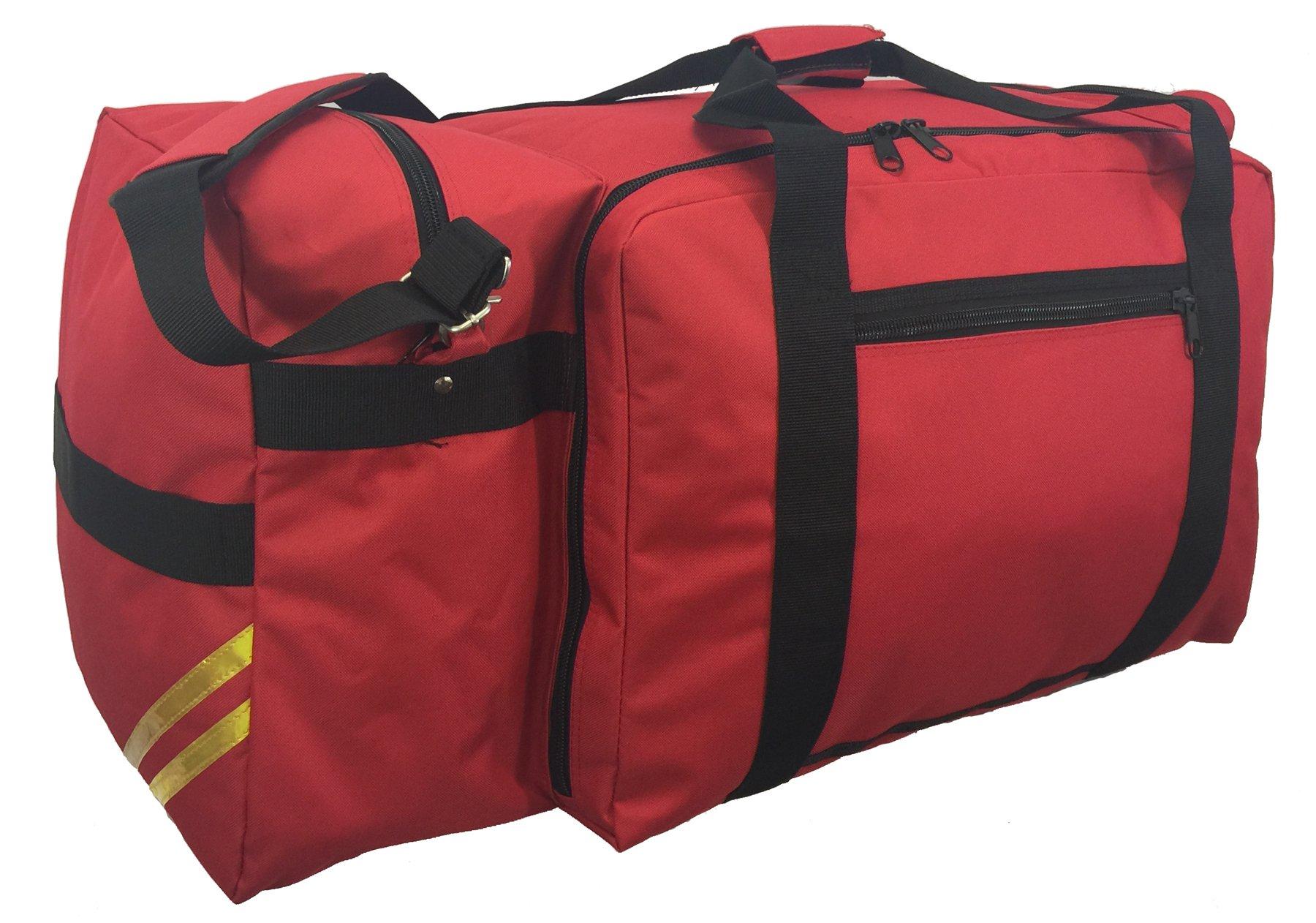 Firefighter Rescue Duffel Fireman Paramedic Medical Bags Fire Fighter Gear Travel Bag Helmet Pocket