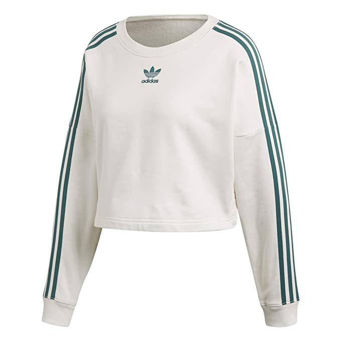 09e5d47419 adidas - Cropped Sweater, Felpa Donna