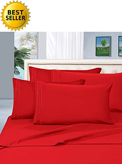 #1 Rated Best Seller Luxurious Bed Sheets Set on Amazon! Celine Linen® 1500