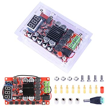Receptor Amplificador de Bluetooth, Quimat 50W+50W HiFi Mini Receptor de Audio TDA7492P Chip