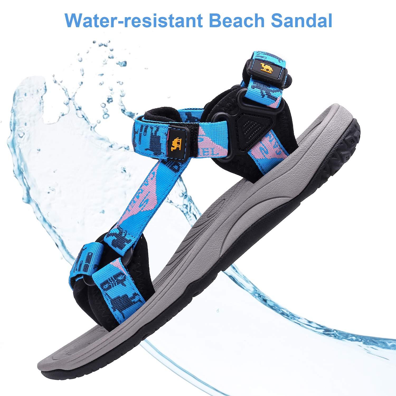CAMEL CROWN Sandalias de Playa para Mujeres Ligeras Antideslizantes Sandalias de Senderismo para Verano Atletismo Deportes Trekking al Aire Libre