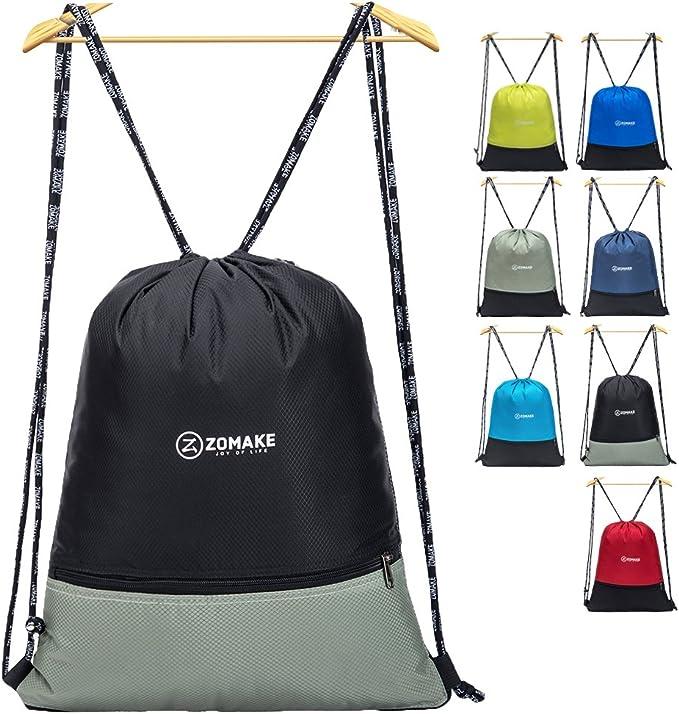 Amazon.com: ZOMAKE mochila de cordón grande cuerdas ...