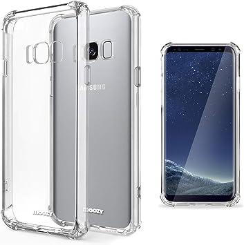 Moozy Funda Silicona Antigolpes para Samsung S8 Plus: Amazon.es: Electrónica