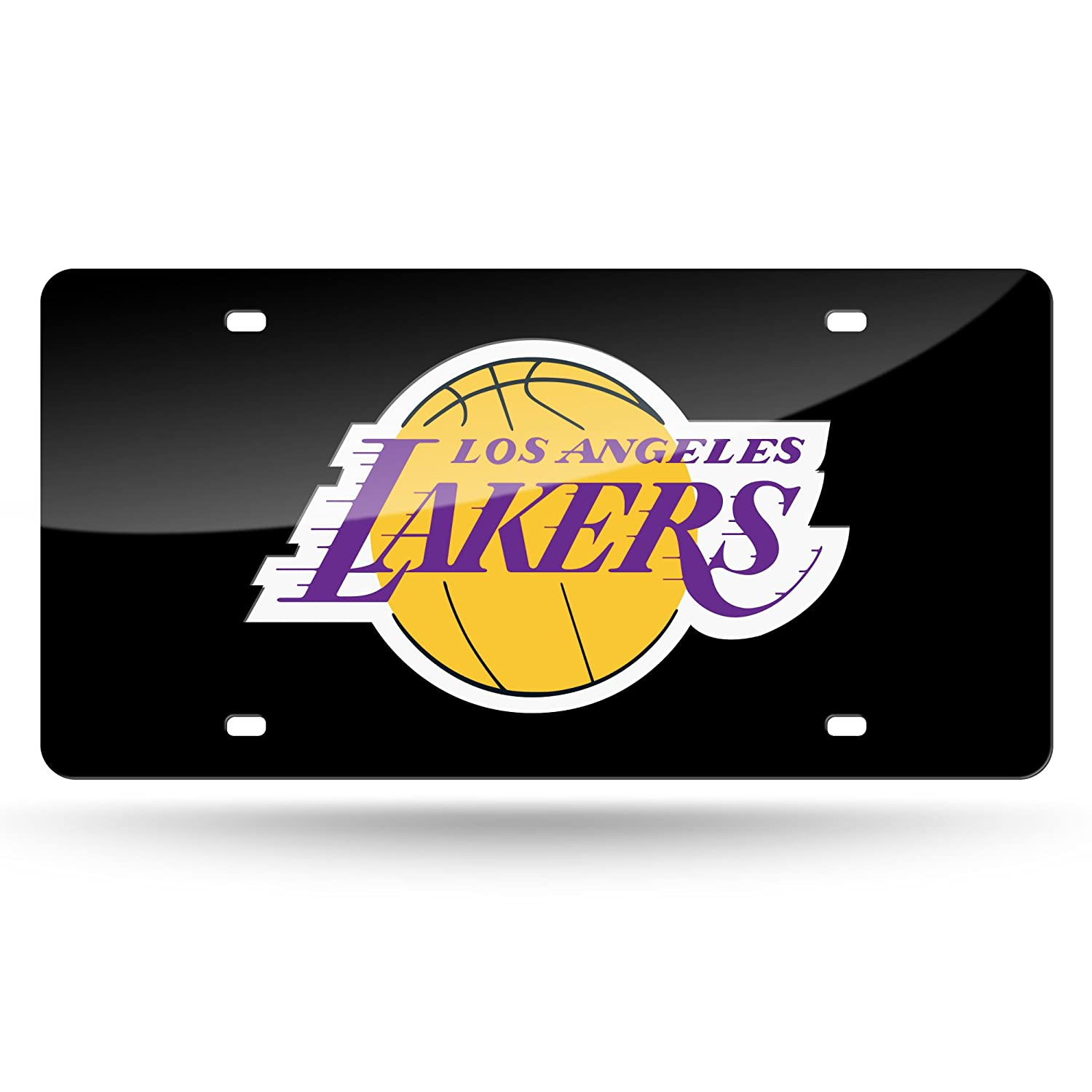 NBA #1 Fan Metal License Plate Tag White Rico Industries Inc LZC77001