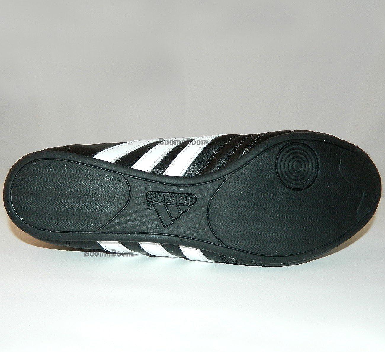 adidas Scarpe Taekwondo Pelle SM2Strisce Nere Bianco