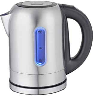 Mega Chef 1.7Lt. Stainless Steel Electric Tea Kettle With 5 Preset Temps