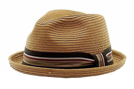 397dd939 Scala Classico Men's Tea Toyo Braid Fashion Fedora Hat Sz: XL ...