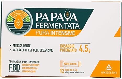 Papaya fermentata pura energya, integratore alimentare antiossidante e per difese immunitarie 12 bustine 933906695