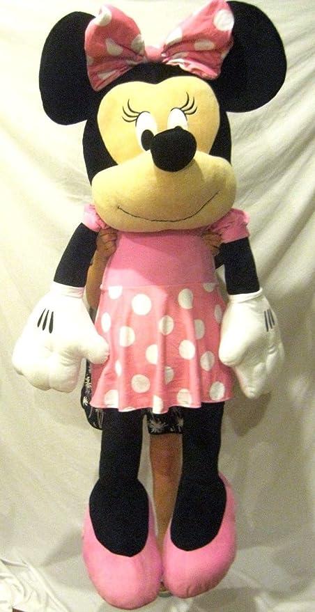 Amazon Com Lifesize Minnie Mouse 63 Giant Plush Toy For Kids