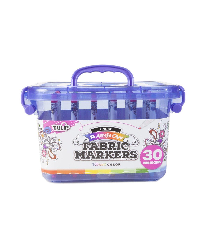 Tulip 37984 Fabric Markers, Multi Duncan Enterprises