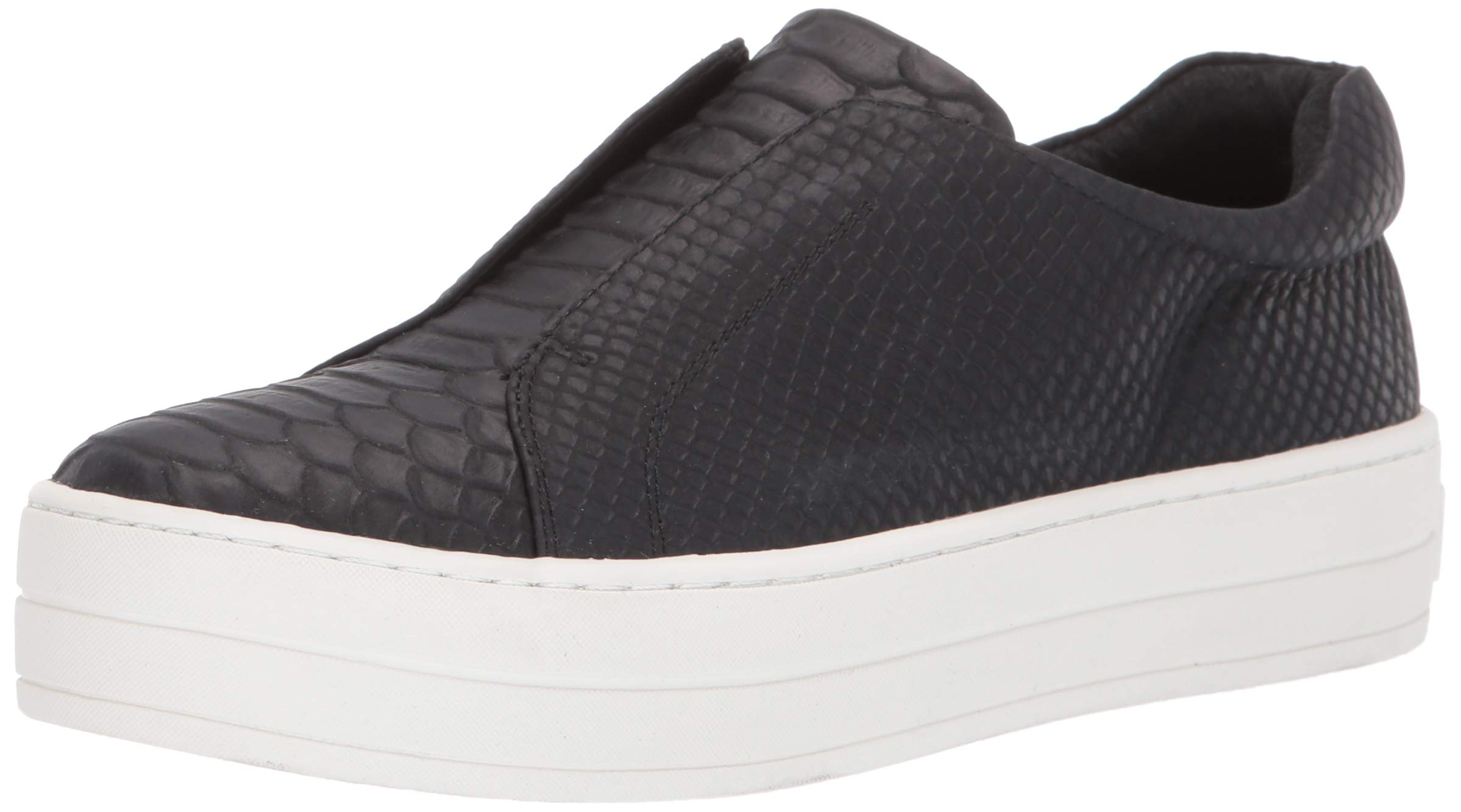 J/SLIDES JSlides Women's Heidi Shoe, Black Embossed, 10 Medium US by J/SLIDES