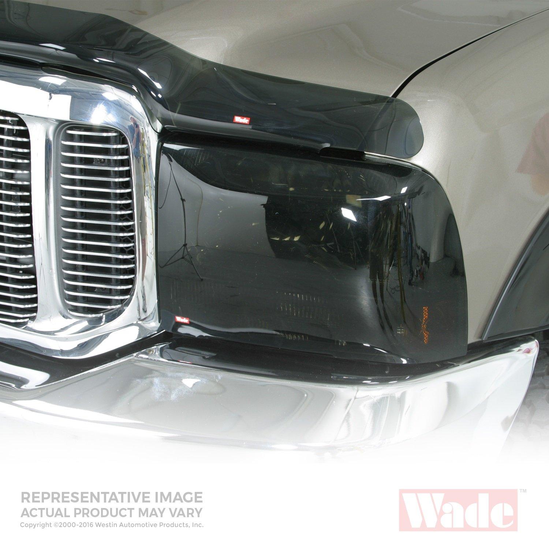 Westin Wade 72-34280 Smoke Tint Light Guard Headlight Cover - Pair