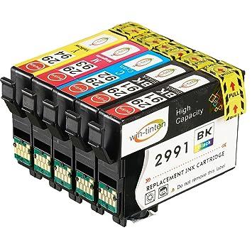 WinTinten 5 Tinta Compatible para Epson T2991 T2992 T2993 T2994 ...
