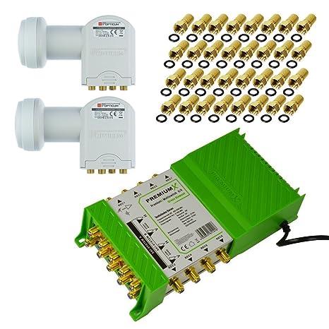Multiconmutadores PM-ECO 9/8 PremiumX Fuente de alimentación interruptor, verde, diamante con 2 x sáb ...