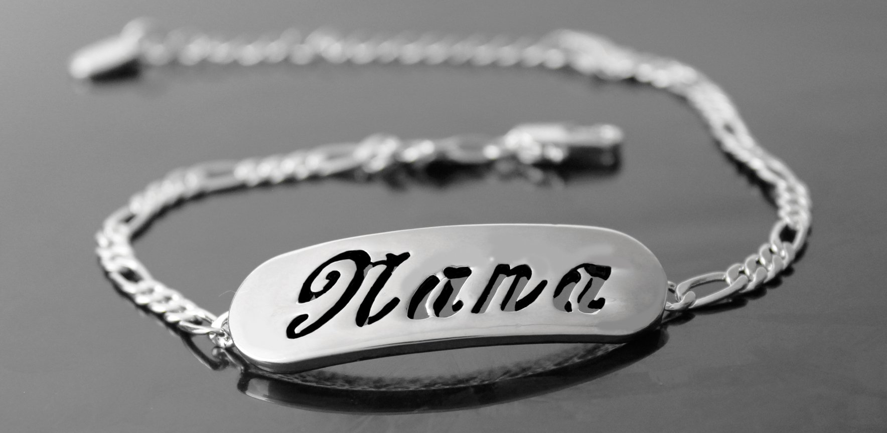 18ct Rose Gold Plated Zacria Adrianna Custom Name Necklace Personalized