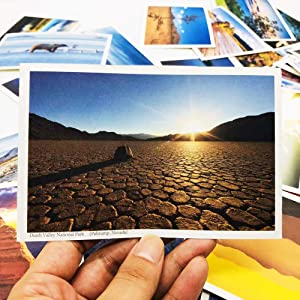 Special Silk Material 64 Sets for 59 USA National Park Postcards with Location