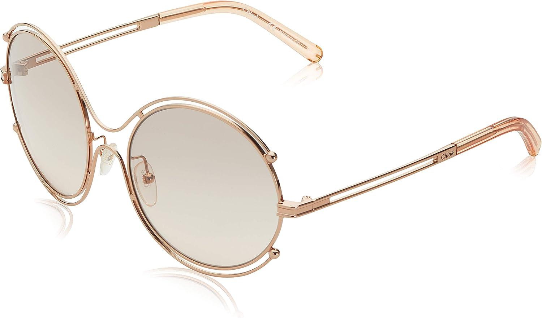Chloè CE122S 785 59 Gafas de sol, Rose Gold/Peach, Mujer: Amazon.es: Ropa y accesorios