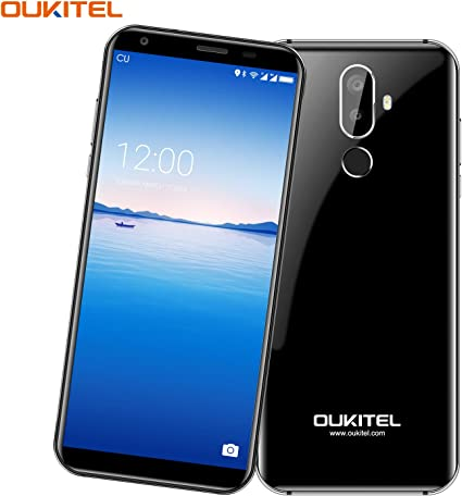 Telefonos Moviles, OUKITEL K5 - 5,7 Pulgadas (18: 9 Relación Visión Completa) 4G Smartphone Libre, 4000mAh