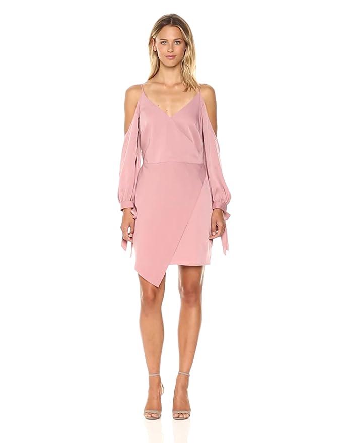509213cd Amazon.com: Adelyn Rae Women's Amelia Woven Cold Shoulder Sheath Dress:  Clothing