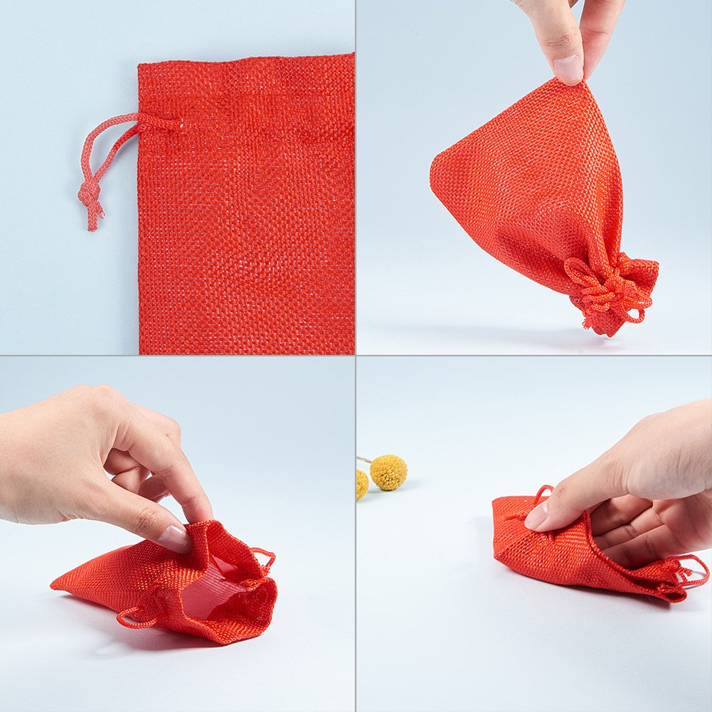 Amazon.com: PandaHall Elite - Bolsas de arpillera con cordón ...