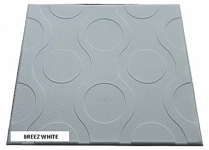 Polistirolo pannelli da parete piastrelle breez bianco bianco