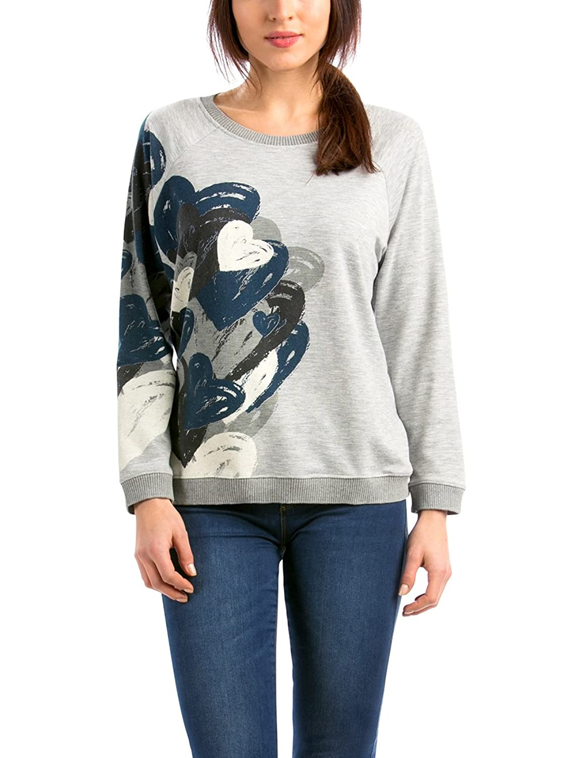 Desigual Women's Round Collar Long sleeve Sweatshirt