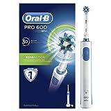 Oral-B Pro 600 CrossAction Spazzolino Elettrico Ricaricabile