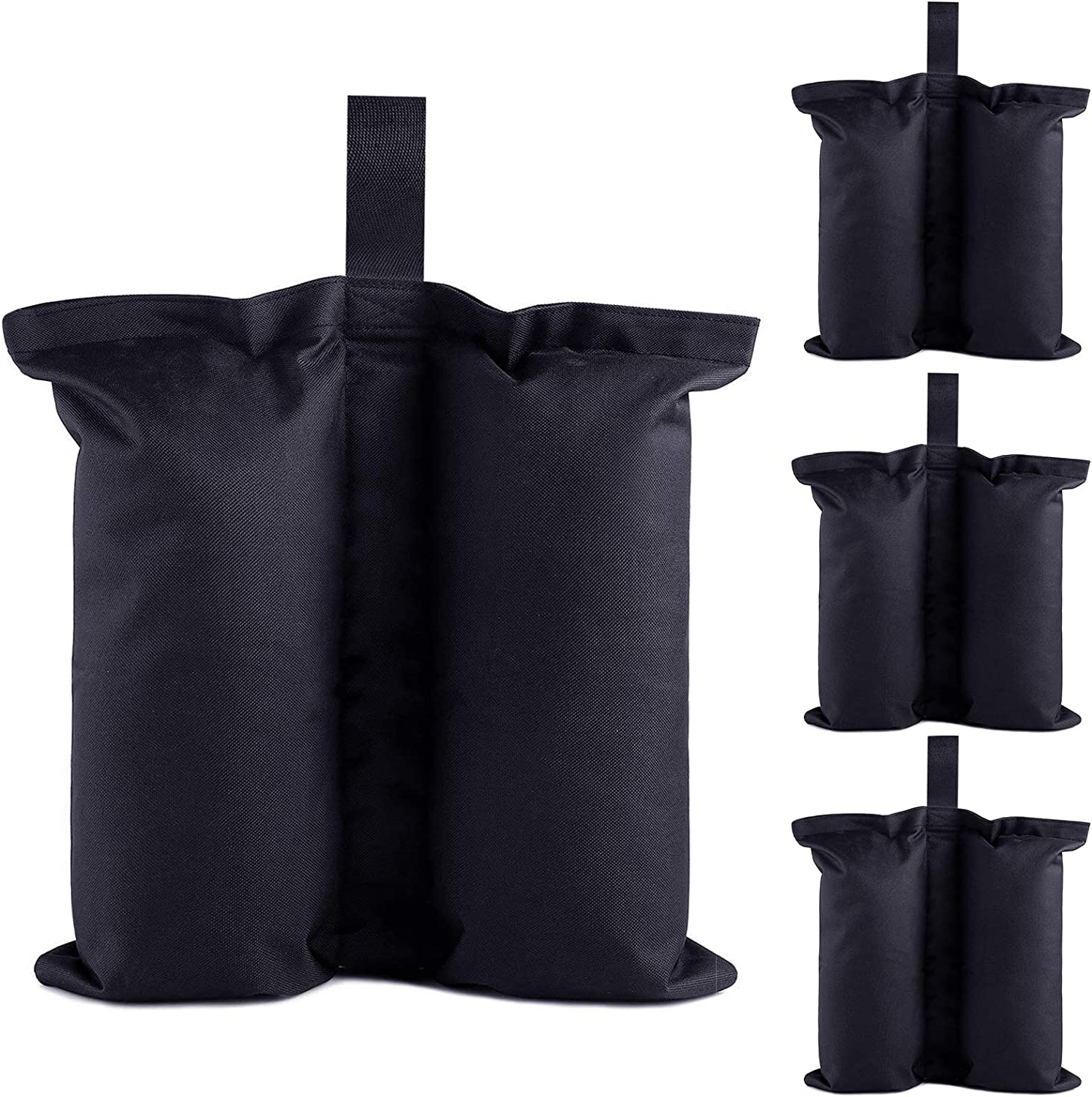 Ey Canopy Weight Bags Set of 4, Sand Bags,Industrial Grade Weights Bags for Pop up Canopy Tent, Large Patio Umbrella Leg Weights Bag for Outdoor Furniture & Sun Shelter