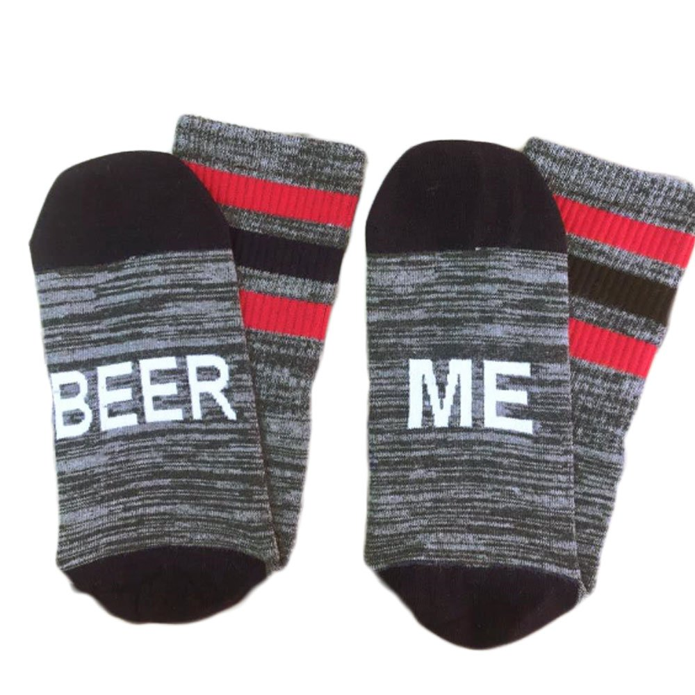 wlgreatsp Bring Mama Some Wine Word Printed Socks Vin beauty