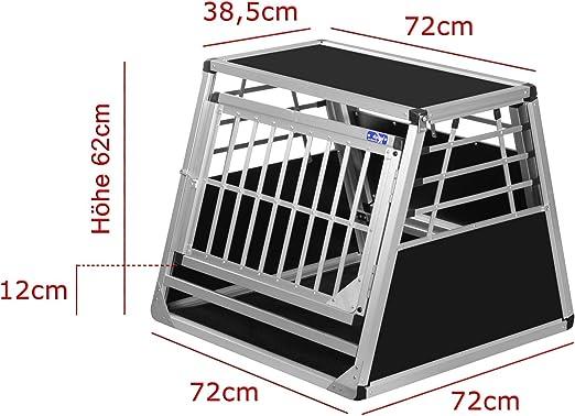 Alpuna Transportbox N19 72x72x62cm Notausstieg Haustier