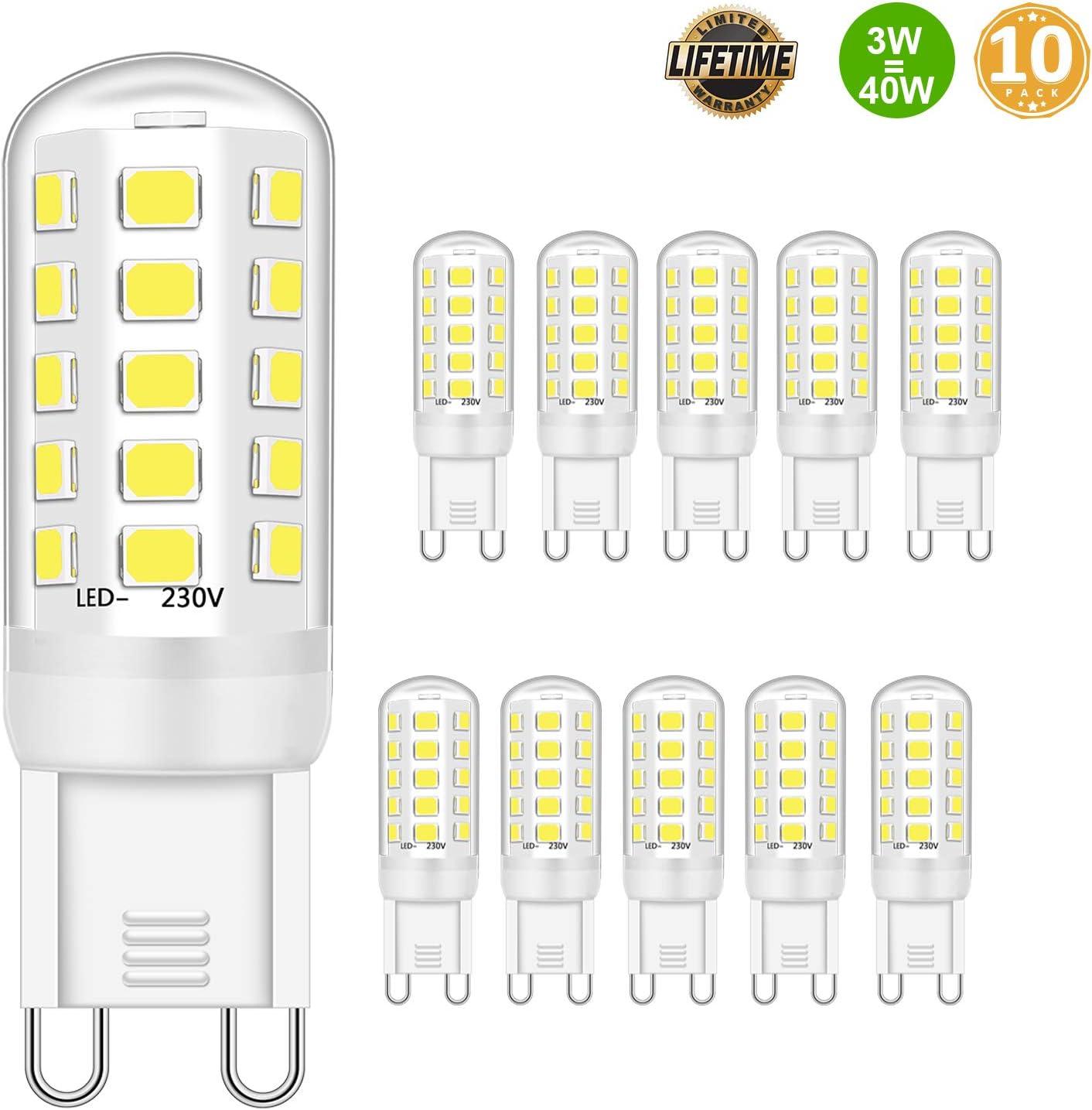G9 LED leuchtmittel 3W Entspricht 28W 33W 40W Halogenbirnen - G9 LED