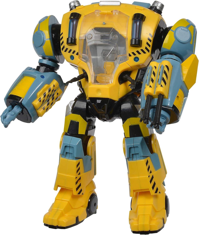 Pour 1 figurine Robot sous-marin Nektons 31cm Le Nektons jaune Nekbot Simba 109391006 Enti/èrement mobile Imperm/éable avec fonction de tir magn/étique