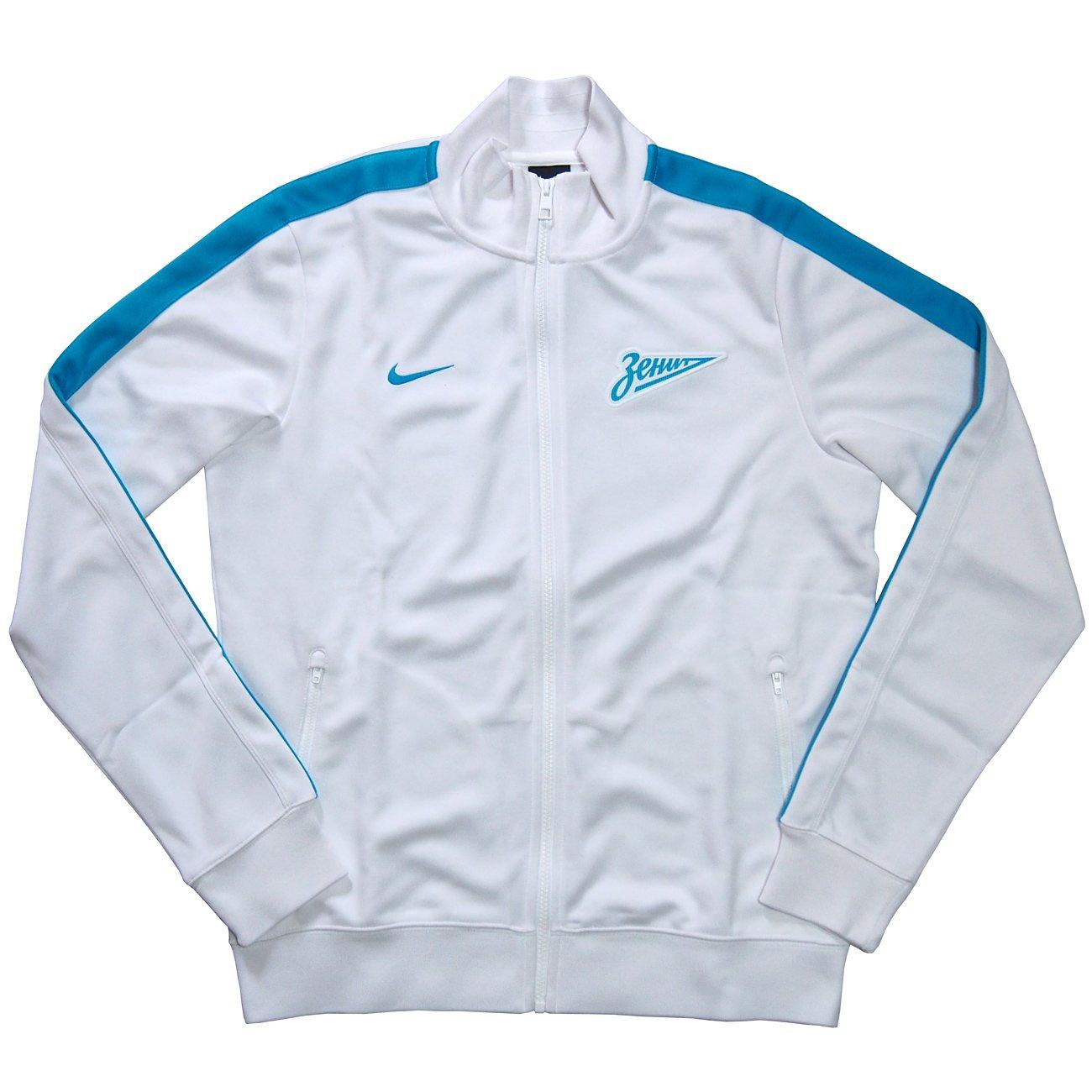 Nike Chaqueta de chándal, Blanco - blanco, XXL/contorno del pecho ...