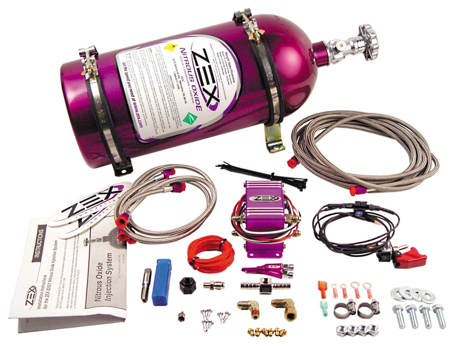 Competition Cams 82021 ZEX Wet Nitrous Oxide System by Zex