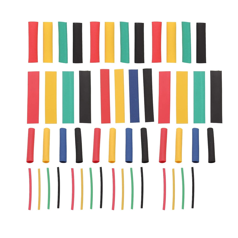 Lot de 164 tubes thermor/étractables 2:1 Isolation /électrique thermor/étractable 5 couleurs en 8 tailles