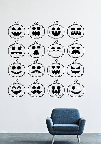 Halloween Wall Decals Decor Vinyl Stickers Lm1791