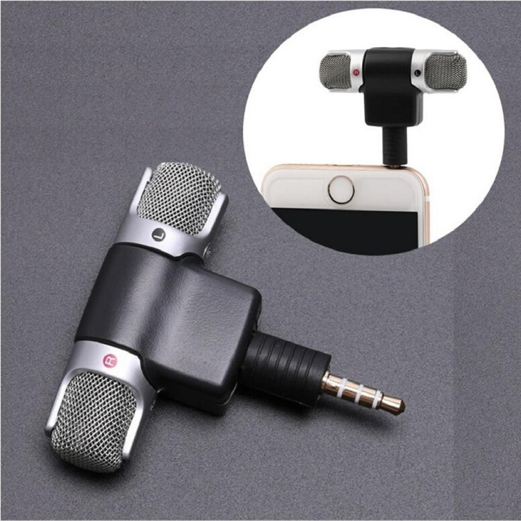 Professional Mini Recorder,Portable Stereo Voice Digital Mic Microphone for Smartphones PC,Tuscom (#2) by Tuscom (Image #1)