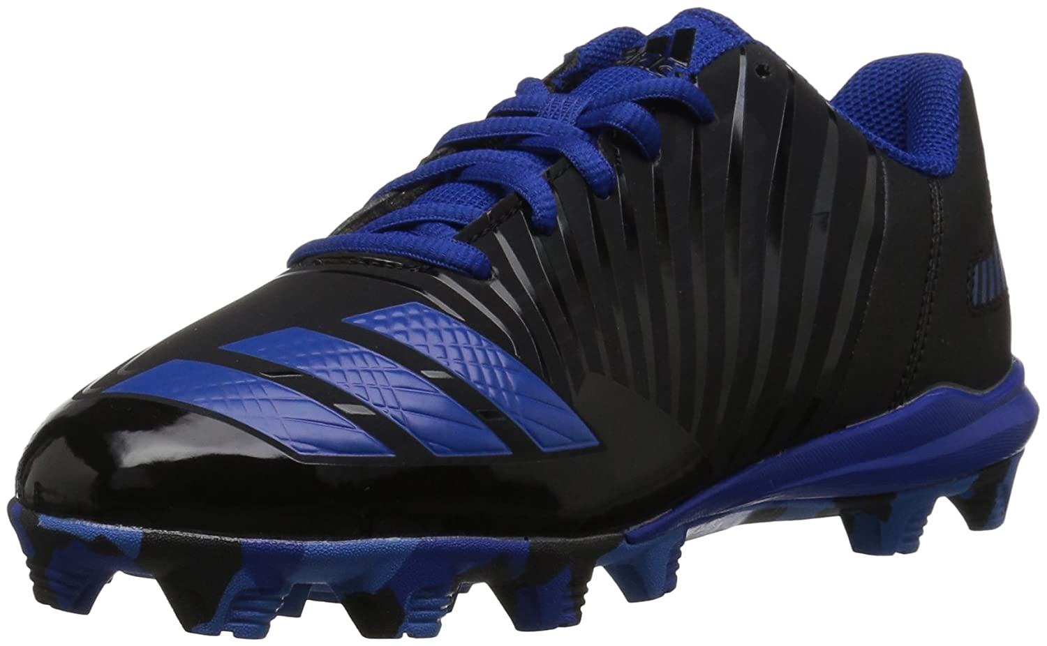 adidas Men's Freak X Carbon Mid Baseball Shoe, Core Black, Bright Royal, Collegiate B39230