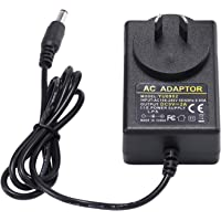CFSadapter AC DC 9V 2A Power Supply Adapter Switching 18W Charger for Arduino UNO R3 LED-L122T LED-L132T Crosley Cruiser…