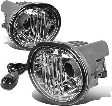Full Kit Set 05-10 TC Grill Fog Lights Clear Lens Front Bumper Lamps